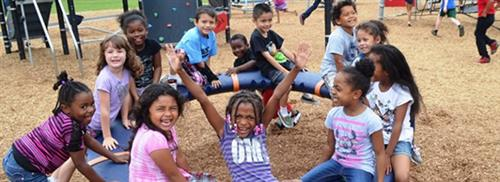 acps students on playground